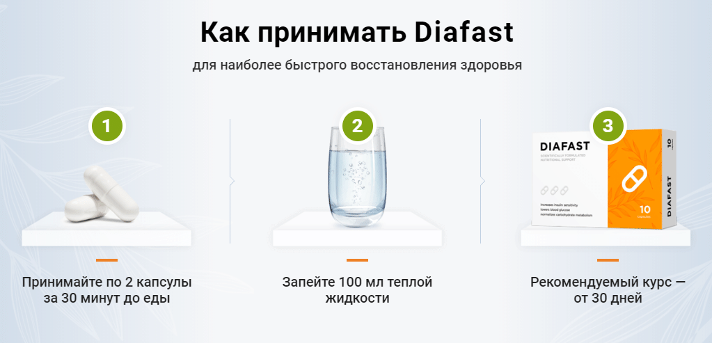 Капсулы Диафаст
