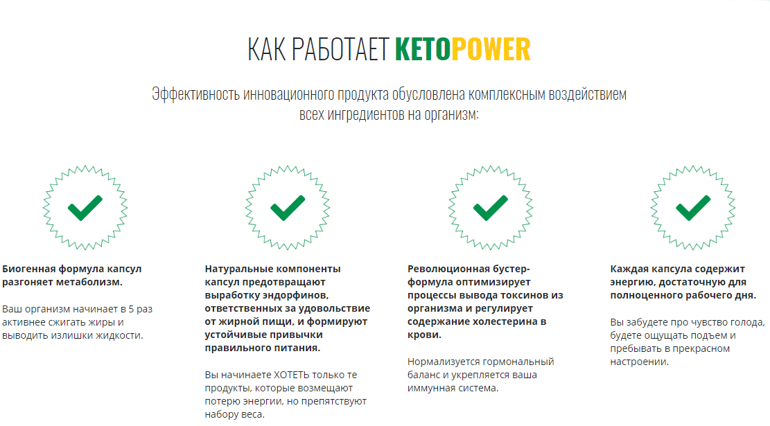 Капсулы Keto Power